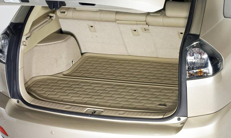 For Lexus LX570 2008-2019 3D MAXpider M1LX0371309 Kagu Black Cargo Liner