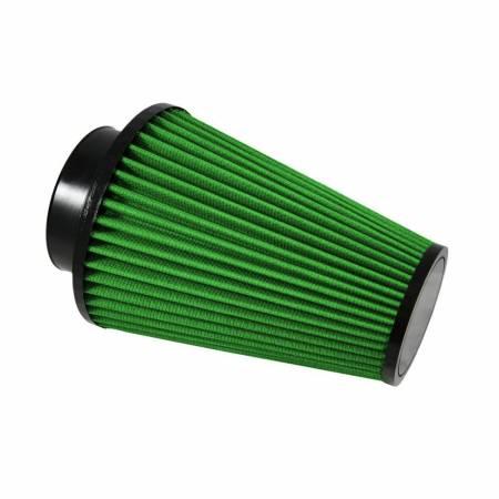 "Green Filter USA - Green Filter Cone Filter; ID 3.5"", H 8"", OD-B 6"", OD-T 3.5"", Radius Inlet"
