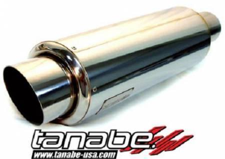 Tanabe - Tanabe Tuner Medalion Universal Muffler Racing 140mm 100mm Tip