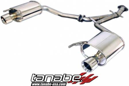 Tanabe - Tanabe Medalion Touring Exhaust System 06-11 Lexus IS250 2WD / AWD