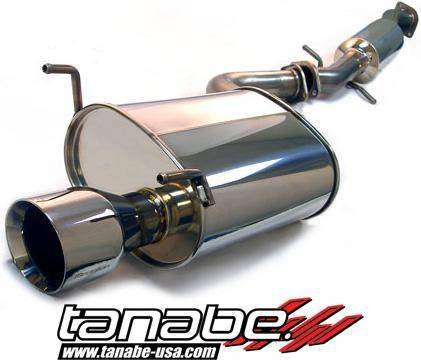 Tanabe - Tanabe Medalion Touring Exhaust System 00-05 Lexus IS300