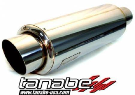 Tanabe - Tanabe Tuner Medalion Universal Muffler Racing 140mm 100mm Tip