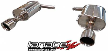 Tanabe - Tanabe Medalion Touring Exhaust System for 07-08 Infiniti G35 Sedan