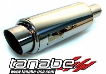 Tanabe - Tanabe Tuner Medalion Universal Muffler Racing 120mm 90mm Tip