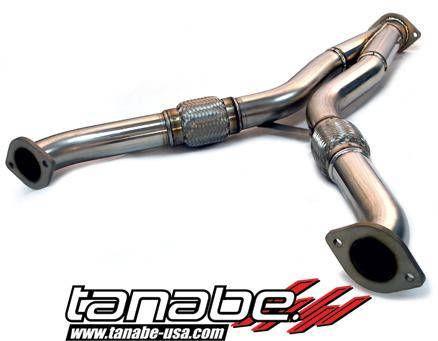 Tanabe - Tanabe Turbine Tube Downpipe for 09-12 Nissan 370Z