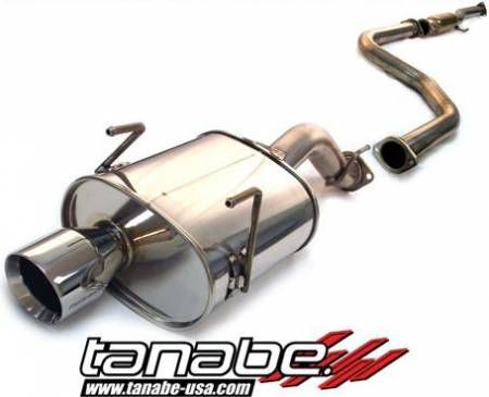 Tanabe - Tanabe Medalion Touring Exhaust System 92-95 Honda Civic Hatchback