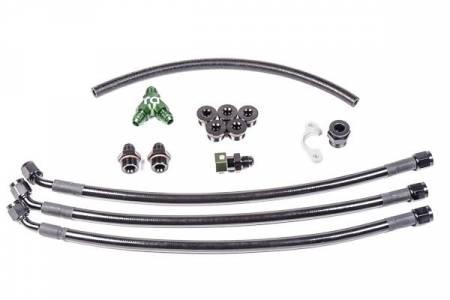 Radium Engineering - Radium Engineering Nissan VQ35DE Fuel Rail Plumbing Kit