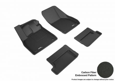 3D MAXpider (U-Ace) - 3D MAXpider FLOOR MATS AUDI TT 2016-2018 KAGU BLACK R1 R2