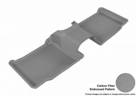 3D MAXpider (U-Ace) - 3D MAXpider FLOOR MATS FORD EXPLORER 2011-2019 KAGU GRAY R2 WITH CENTER CONSOLE