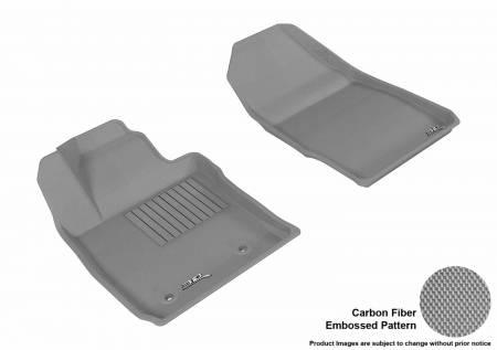 3D MAXpider (U-Ace) - 3D MAXpider FLOOR MATS FORD FIESTA 2011-2019 KAGU GRAY R1