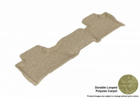 3D MAXpider (U-Ace) - 3D MAXpider FLOOR MATS CHEVROLET SUBURBAN/ GMC YUKON XL 2015-2019 CLASSIC TAN R2 BUCKET SEATS