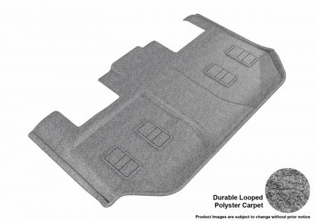 3D MAXpider (U-Ace) - 3D MAXpider FLOOR MATS CHEVROLET SUBURBAN/ GMC YUKON XL WITH BUCKET 2ND ROW 2015-2019 CLASSIC GRAY R3