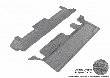 3D MAXpider (U-Ace) - 3D MAXpider FLOOR MATS CHEVROLET TAHOE/ GMC YUKON WITH BENCH 2ND ROW 2015-2019 CLASSIC GRAY R3