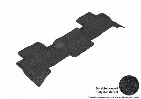 3D MAXpider (U-Ace) - 3D MAXpider FLOOR MATS CHEVROLET TAHOE/ GMC YUKON 2015-2019 CLASSIC BLACK R2 BENCH SEAT