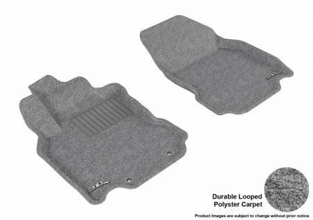 3D MAXpider (U-Ace) - 3D MAXpider FLOOR MATS NISSAN CUBE 2009-2014 CLASSIC GRAY R1