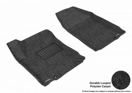 3D MAXpider (U-Ace) - 3D MAXpider FLOOR MATS NISSAN ALTIMA SEDAN 2013 CLASSIC BLACK R1 (EARLY PRODUCTION - 10/2012 OR PRIOR ONLY)