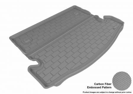 3D MAXpider (U-Ace) - 3D MAXpider NISSAN ROGUE 7-SEAT 2014-2019 KAGU GRAY BEHIND 2ND ROW STOWABLE CARGO LINER (7 SEATS, BEHIND 2ND SEAT)