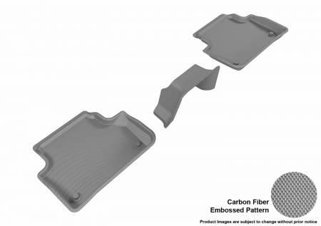 3D MAXpider (U-Ace) - 3D MAXpider FLOOR MATS AUDI A4/ S4 2017-2019/ A5 SPORTBACK/ S5 SPORTBACK 2018-2019 KAGU GRAY R2 (3PCS)