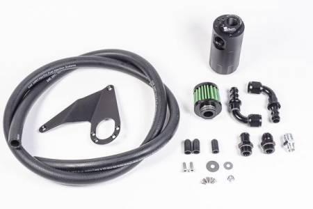 Radium Engineering - Radium Engineering 08+ Mitsubishi Evo X Crankcase Catch Can Kit VTA
