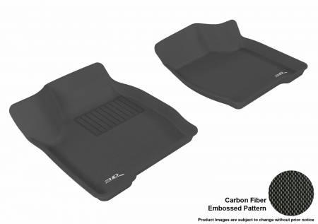 3D MAXpider (U-Ace) - 3D MAXpider FLOOR MATS BUICK LACROSSE 2005-2009 KAGU BLACK R1
