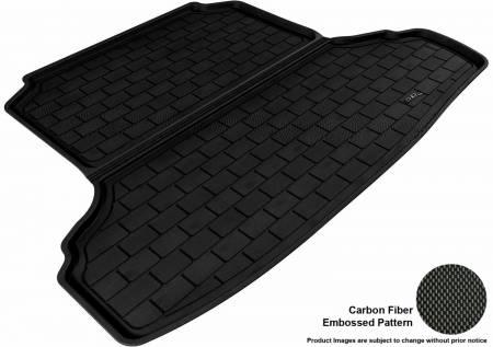 3D MAXpider (U-Ace) - 3D MAXpider NISSAN ALTIMA SEDAN 2007-2012 KAGU BLACK STOWABLE CARGO LINER