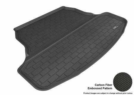 3D MAXpider (U-Ace) - 3D MAXpider NISSAN SENTRA 2013-2019 KAGU BLACK STOWABLE CARGO LINER