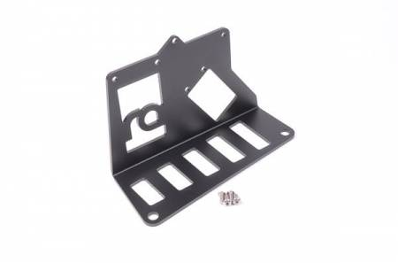 Radium Engineering - Radium Engineering Fuel Surge Tank Mtg Bracket - Universal Angled Mount