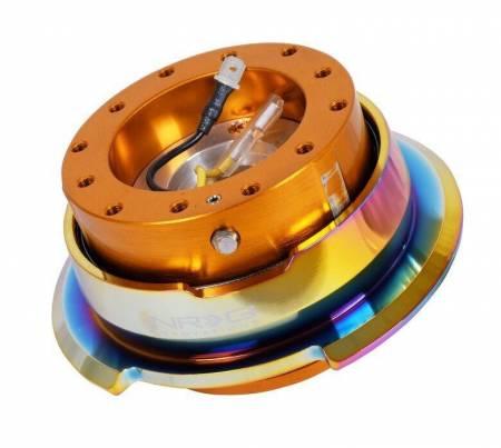 NRG Innovations - NRG Innovations Quick Release Gen 2.8 - Rose Gold Body/ Neo Chrome Ring