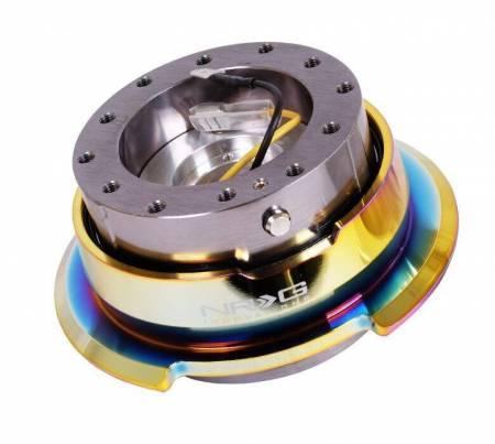 NRG Innovations - NRG Innovations Quick Release Gen 2.8 - Gun Metal Body/Neo Chrome Ring