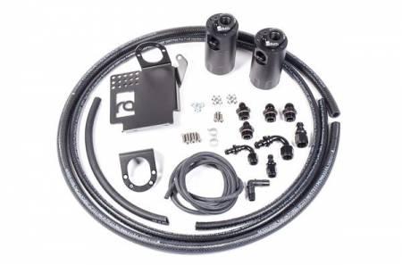 Radium Engineering - Radium Engineering 06-09 Honda S2000 LHD (All RHD) Dual Catch Can Kit