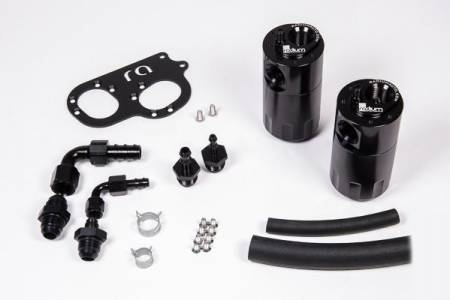 Radium Engineering - Radium Engineering Lotus Elise/Exige (2ZZ-GE) Dual Catch Can Kit