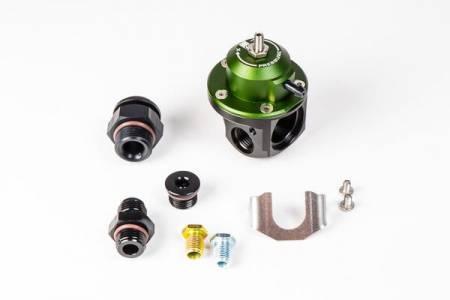 Radium Engineering - Radium Engineering DMR Fuel Pressure Regulator 8AN ORB - Black