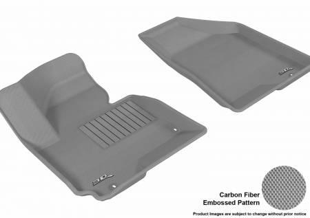 3D MAXpider (U-Ace) - 3D MAXpider FLOOR MATS KIA SPORTAGE 2014-2016/ HYUNDAI TUCSON 2014-2015 KAGU GRAY R1
