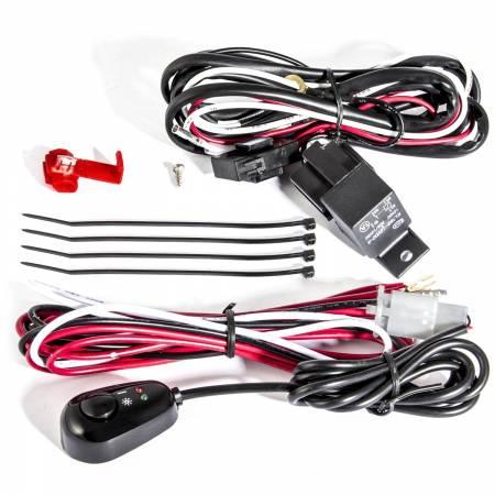 Anzo USA - ANZO 12V Wiring Kit Universal 12V Auxiliary Wiring Kit w/ Illuminated Switch