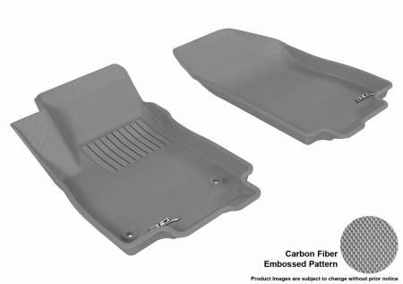 3D MAXpider (U-Ace) - 3D MAXpider FLOOR MATS BUICK ENCORE 2013-2019/ CHEVROLET TRAX 2014-2019 KAGU GRAY R1
