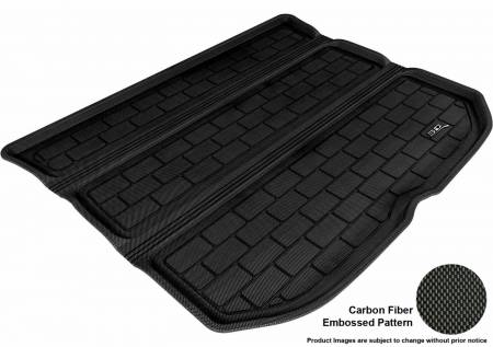 3D MAXpider (U-Ace) - 3D MAXpider SCION TC 2011-2014 KAGU BLACK STOWABLE CARGO LINER