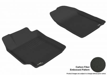 3D MAXpider (U-Ace) - 3D MAXpider FLOOR MATS TOYOTA CAMRY 2007-2011 KAGU BLACK R1