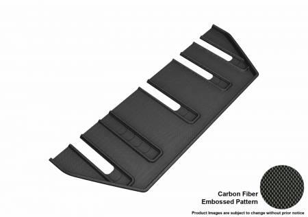 3D MAXpider (U-Ace) - 3D MAXpider FLOOR MATS TESLA MODEL X FOLDING 7 SEATS 2017-2019 KAGU BLACK R3