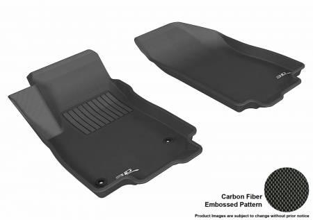 3D MAXpider (U-Ace) - 3D MAXpider FLOOR MATS BUICK ENCORE 2013-2019/ CHEVROLET TRAX 2014-2019 KAGU BLACK R1