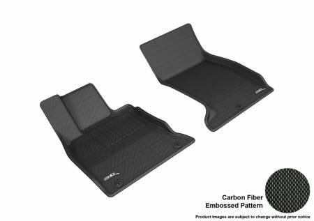 3D MAXpider (U-Ace) - 3D MAXpider FLOOR MATS KIA STINGER AWD 2018-2019 KAGU BLACK R1