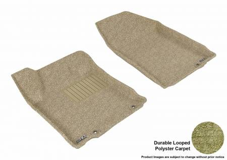 3D MAXpider (U-Ace) - 3D MAXpider FLOOR MATS NISSAN ALTIMA SEDAN 2013 CLASSIC TAN R1 (EARLY PRODUCTION - 10/2012 OR PRIOR ONLY)