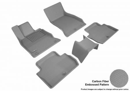 3D MAXpider (U-Ace) - 3D MAXpider FLOOR MATS KIA STINGER RWD 2018-2019 KAGU GRAY R1 R2