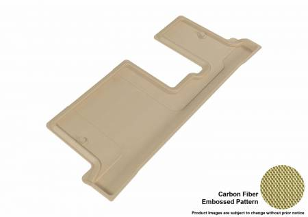 3D MAXpider (U-Ace) - 3D MAXpider FLOOR MATS BUICK ENCLAVE 2008-2017 WITH BENCH 2ND ROW/ CHEVROLET TRAVERSE 2009-2017/ GMC ACADIA 2007-2016/ GMC ACADIA LIMITED 2017 KAGU TAN R3