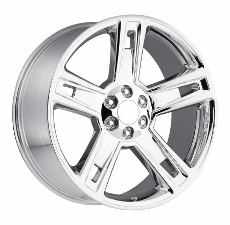 Factory Reproductions Wheels - FR Series 34 Replica Silverado/Sierra Wheel 22x9 6X5.5 ET24 78.1CB Chrome