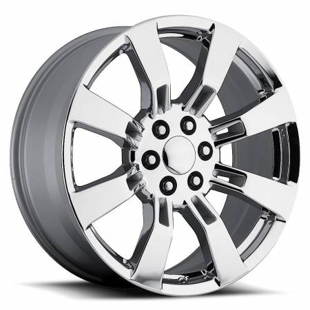 Factory Reproductions Wheels - FR Series 40 Replica Escalade Wheel 22X9 6X5.5 ET31 78.1CB Chrome