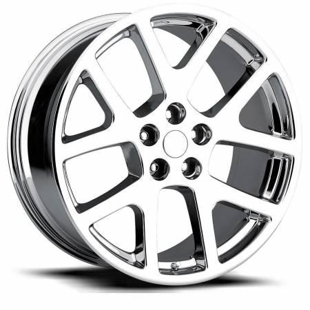 Factory Reproductions Wheels - FR Series 64 Replica Jeep Grand Cherokee Wheel 22X10 5X5 ET50 71.5CB Chrome