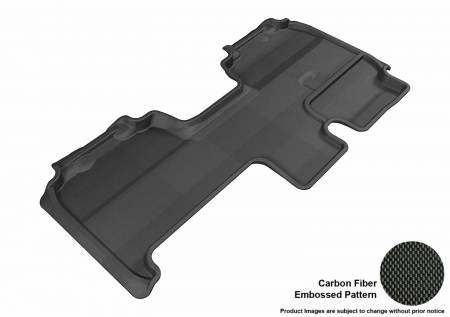 3D MAXpider (U-Ace) - 3D MAXpider FLOOR MATS FORD F-150 2009-2014 SUPERCAB KAGU BLACK R2 (TRIM TO FIT SUBWOOFER)