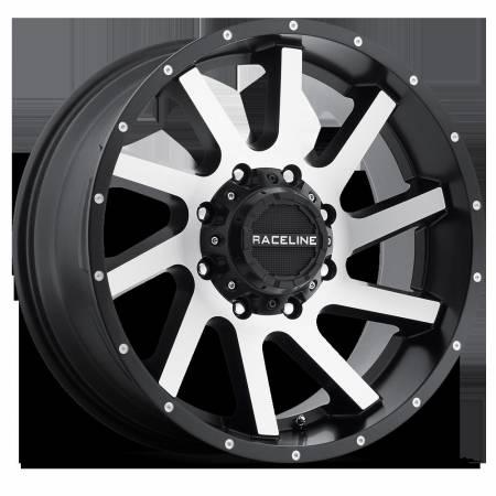 Raceline Wheels - Raceline Wheels Rim TWIST BMF 20X12 8X6.5 -44mm