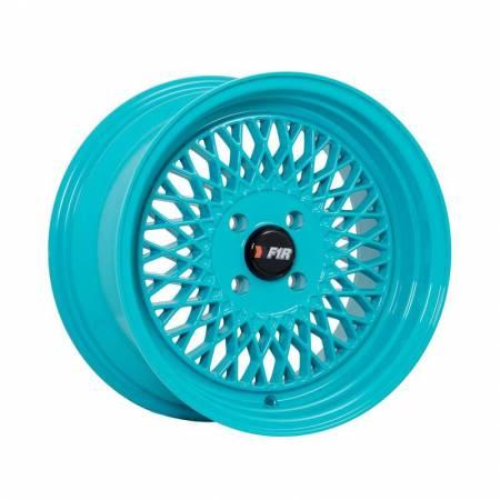 F1R Wheels - F1R Wheels Rim F01 15x8 4x100 ET25 Teal