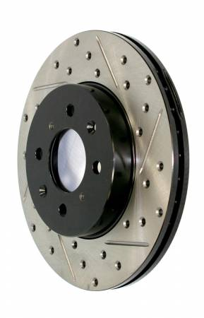 StopTech - StopTech Slotted & Drilled Sport Brake Rotor